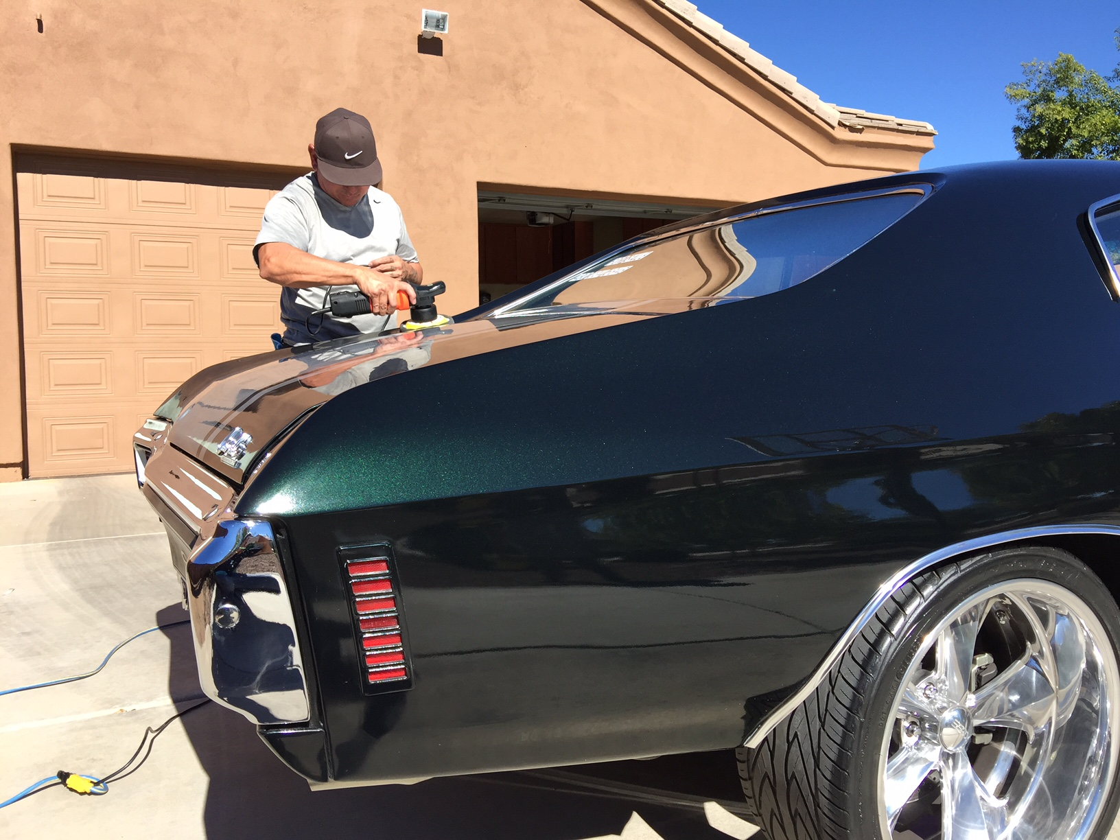 3 Step Buffing Paint Correction