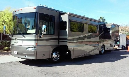 Clean and Neat RV