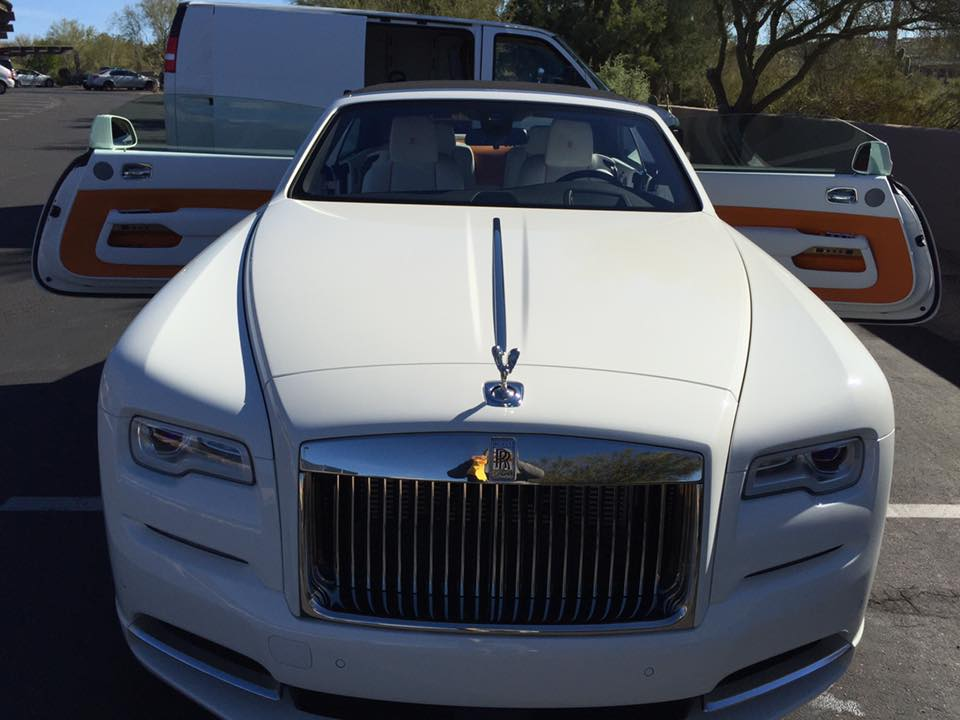 Clean and Neat Rolls Royce